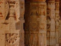 Indische kolommen stock fotografie