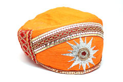 Indische Kopfbedeckung oder Turban Stockbilder