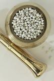 Indische kruid-witte peper royalty-vrije stock foto