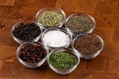 Indische kruiden Royalty-vrije Stock Foto's
