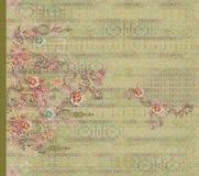 Indische kurti digitale voorkant als achtergrond vector illustratie