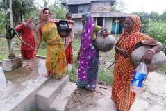 Indische landwirtschaftliche Frauen Lizenzfreie Stockbilder