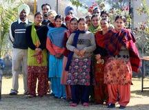 Indische leraren Royalty-vrije Stock Foto
