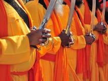 Indische Mönche Stockbild