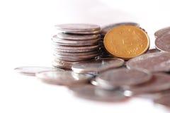 Indische Münzen Lizenzfreies Stockfoto
