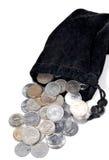 Indische Münzen Lizenzfreie Stockfotos