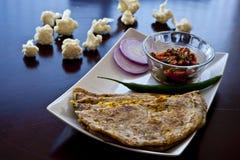 Indische maaltijd Stock Afbeelding