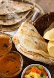 Indische Mahlzeit Stockfoto