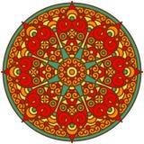 Indische Mandala Royalty-vrije Stock Foto's