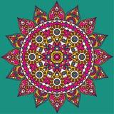 Indische Mandala Stock Afbeelding