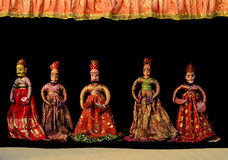 Indische Marionet Stock Afbeelding