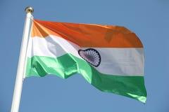 Indische Markierungsfahne Lizenzfreies Stockbild