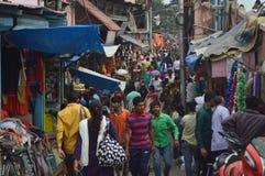 Indische markt Royalty-vrije Stock Afbeelding