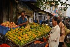 Indische markt stock afbeelding