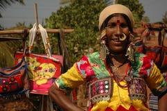 Indische markt. Toebehoren royalty-vrije stock afbeeldingen