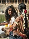 Indische meisjes Stock Afbeelding