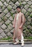 Indische mens stock foto's