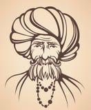 Indische mens royalty-vrije illustratie