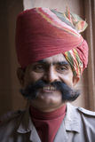Indische mens in Rajasthan Royalty-vrije Stock Fotografie