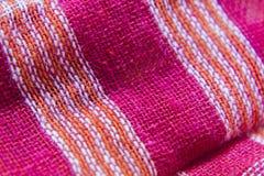 Indische met de hand gemaakte cuttonhanddoek stock afbeeldingen