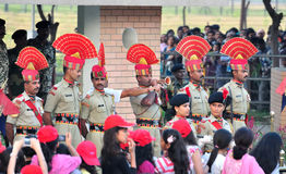 Indische Militair stock afbeeldingen