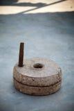 Indische molensteen Royalty-vrije Stock Fotografie