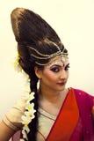 Indische mooie mannequin Stock Afbeelding