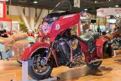 Indische Motorfiets Chiefrain 2015 Stock Foto