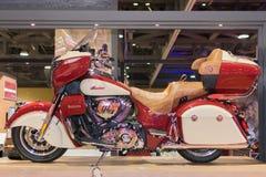 Indische Motorfiets Roadmaster 2015 Royalty-vrije Stock Fotografie