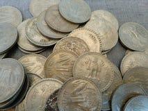 Indische Munt Stock Afbeelding