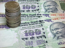 Indische Munt Royalty-vrije Stock Fotografie