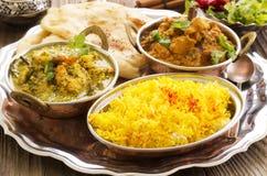 Indische Nahrung Stockfotos