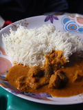 Indische Nahrung Lizenzfreie Stockfotos