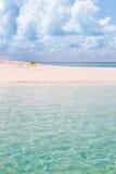 Indische Oceaan in de Maldiven Stock Afbeelding