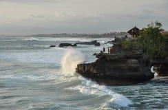 Indische Oceaan op Bali royalty-vrije stock foto's