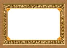 Indische ontwerpgrens royalty-vrije illustratie