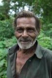 Indische Oude mens Stock Foto