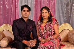 Indische Paare Stockbild