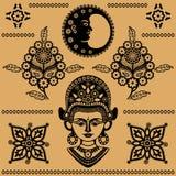 Indische patronen Stock Foto