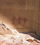 Indische Petroglyphen Lizenzfreie Stockbilder