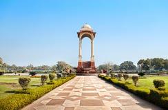 Indische Poort in Delhi royalty-vrije stock foto