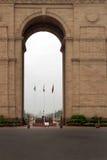 Indische poort in New Delhi royalty-vrije stock foto's
