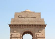 Indische Poort in New Delhi Royalty-vrije Stock Afbeeldingen