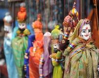 Indische Puppen Stockfotografie
