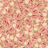 Indische Roepies naadloze textuur Stock Afbeeldingen