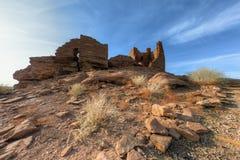 Indische ruïnes Royalty-vrije Stock Foto's
