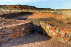 Indische ruïnes Stock Afbeelding
