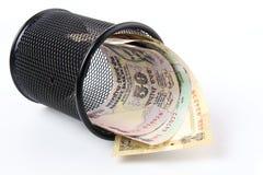 Indische Rupie Stockfoto