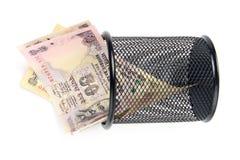 Indische Rupie Stockbilder