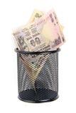 Indische Rupie Stockfotografie
